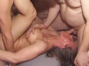 Her hot wife fucked with 29 guys at gangbang party  
