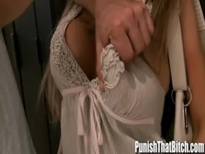 Cheating Girlfriend Gets Punished - PunishThatBitch.com free